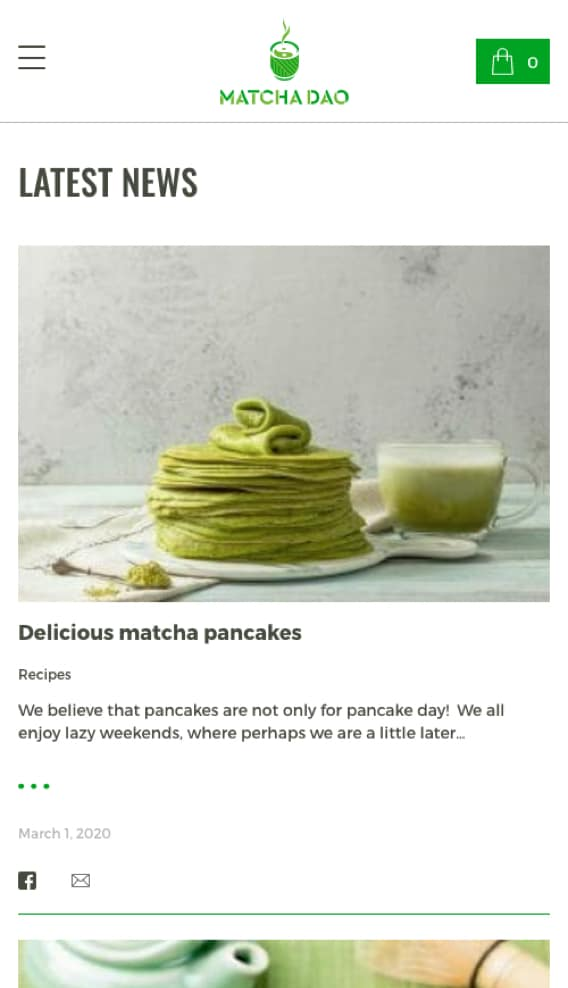 Matcha Energy Direct to your Kitchen