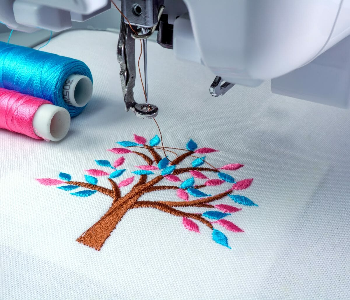 Finding the perfect colour for embroidery hobbyists
